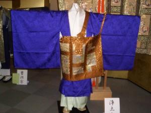 僧侶の晴着は やはり 法衣(ほうい)です。
