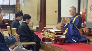 仏教者になるための言葉を授けます