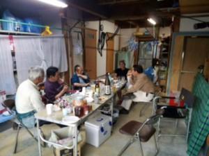 「仏僧(ぶっそう)な夜会」と名付け、檀家の有志らと未来の西願寺について語りました。楽しかったです♪これが自坊の醍醐味ですね^^。