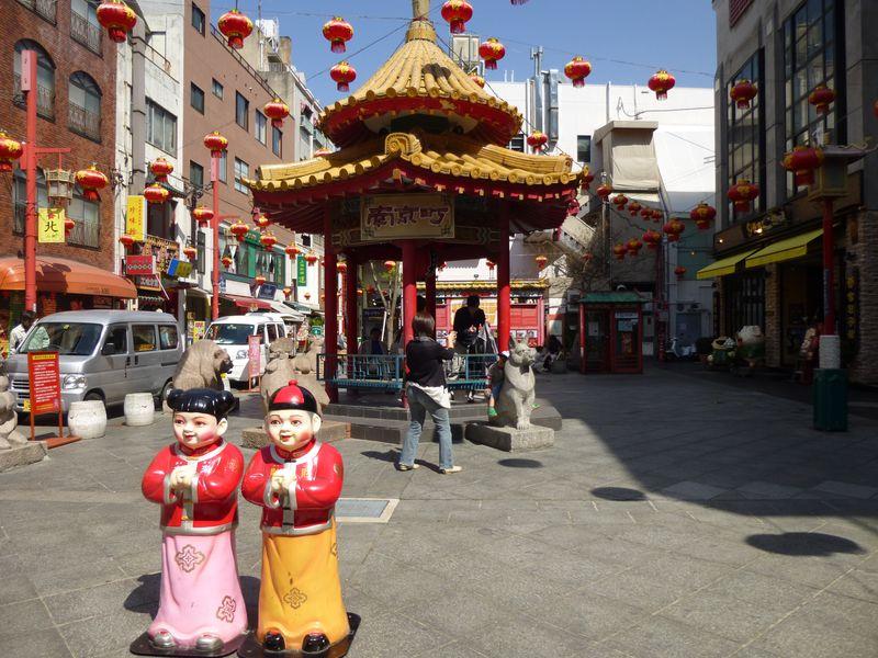 神戸の中華街・南京町